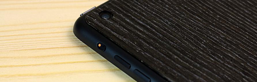 Деревянная накладка iPad