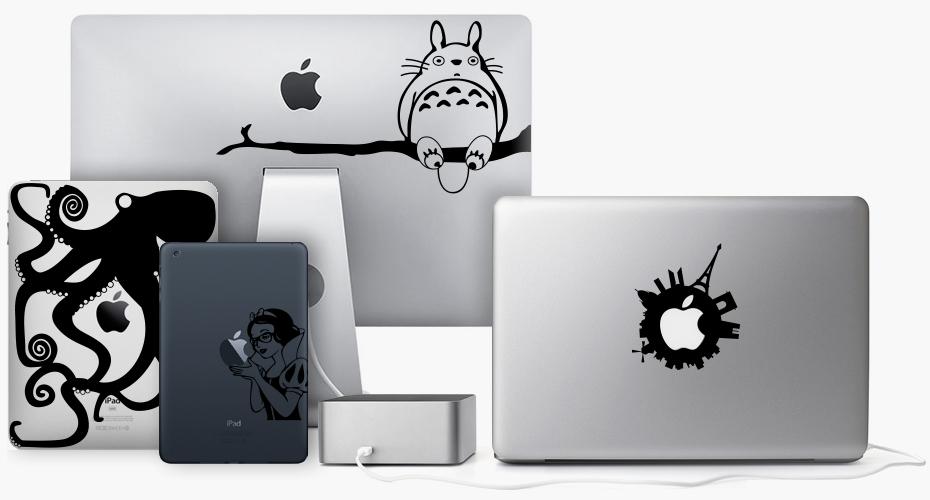 Decals iPad Macbook