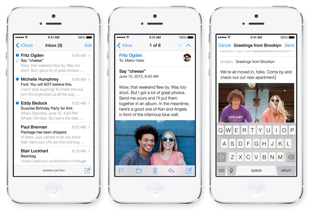 iOS 7 Mail